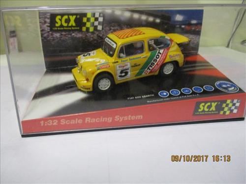 1/32 SCALE SCX SLOT CAR FIAT 600 ABARTH