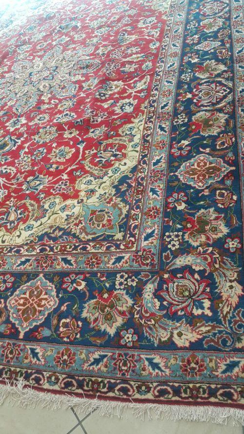 rugs carpets persian carpet najafabad 3m x with certificate was listed for r9. Black Bedroom Furniture Sets. Home Design Ideas