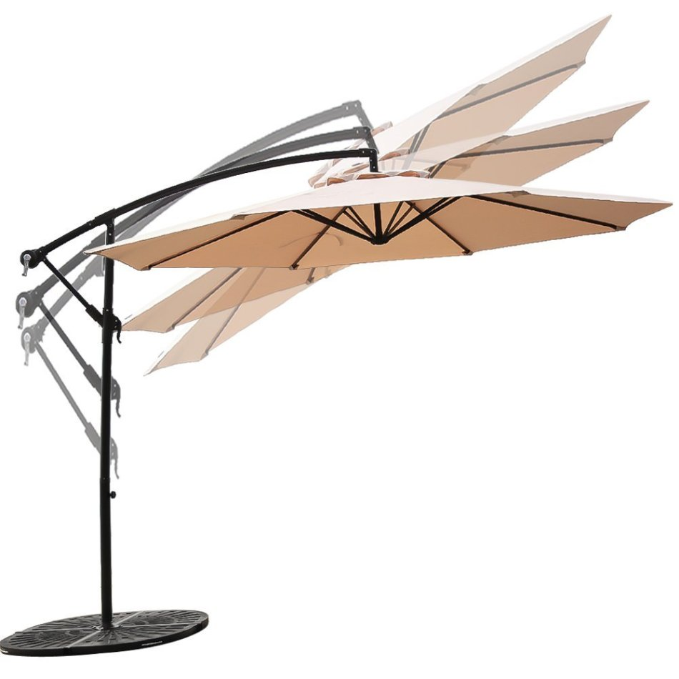 Umbrellas Amp Stands Offset Cantilever Patio Umbrella