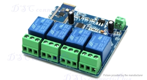 Industrial Automation & Control - 5V 4CH Bluetooth Relay
