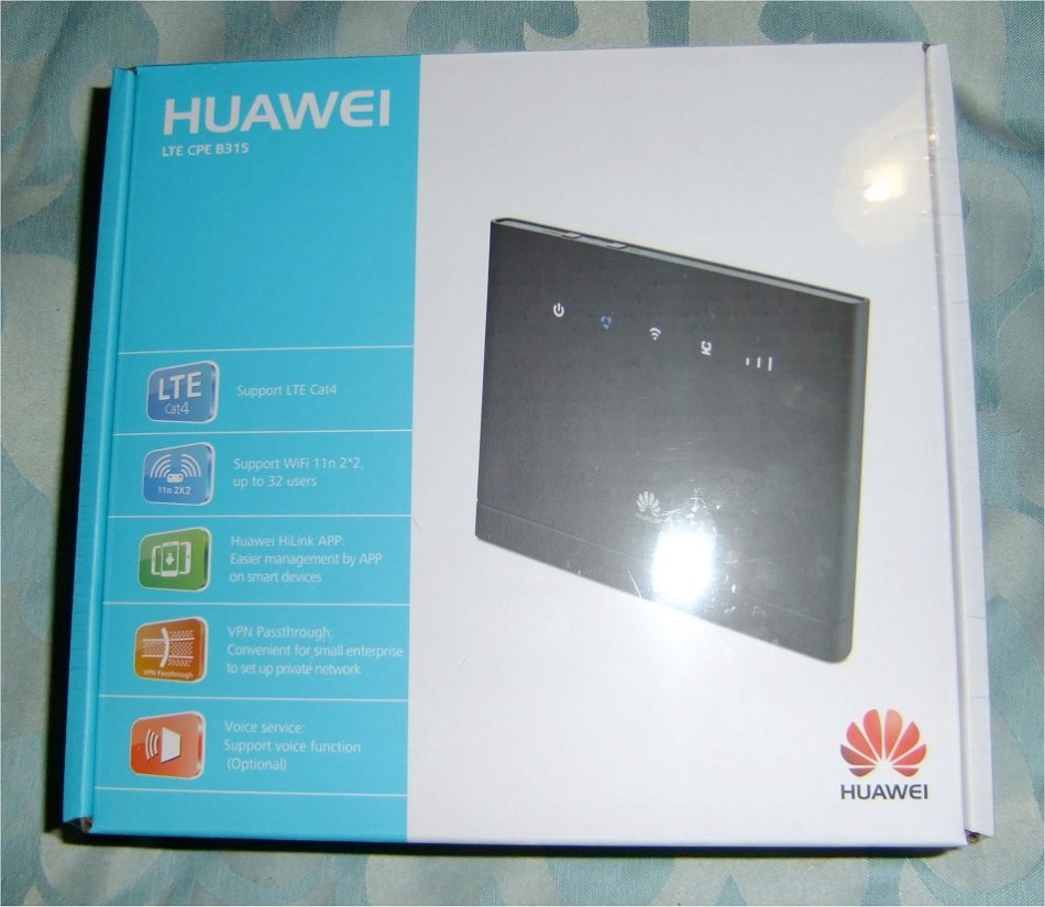 Huawei B315s-936 LTE Cat4 (150Mbps) Wireless Router supports up to 32  Devices (Brand New, Sealed)