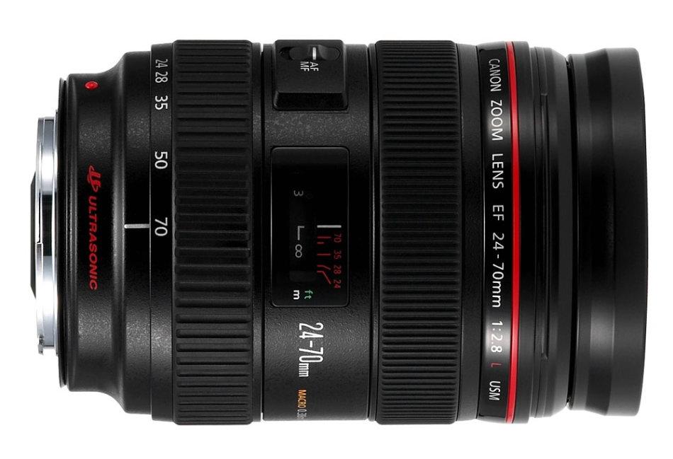 Lenses - Canon EF 24-70mm f/2.8 L USM Zoom Lens for Canon FULL FRAME ...