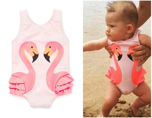 Swimwear Flamingo Swimming Costume Size 4 5 Years Was Listed For