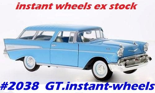 Chevrolet Nomad 1957 NEW+boxed FREE delivery #2038 instant wheels