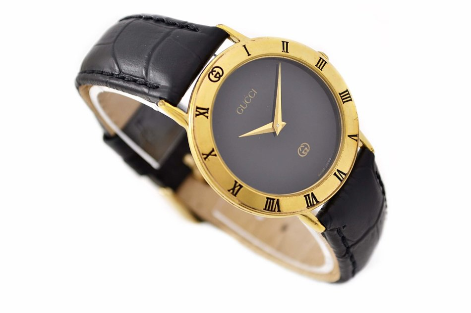 63023ad9970 Rare   Collectible Watches - Vintage Gucci 3000M Gold Plated Quartz ...