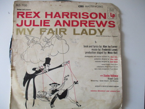 Other Music Related Items Vintage Lp My Fair Lady Cover