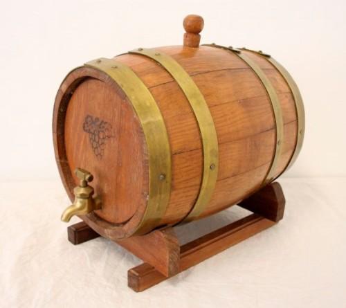 Casks Barrels And Vats A Fabulous Small Vintage Solid Oak Wine