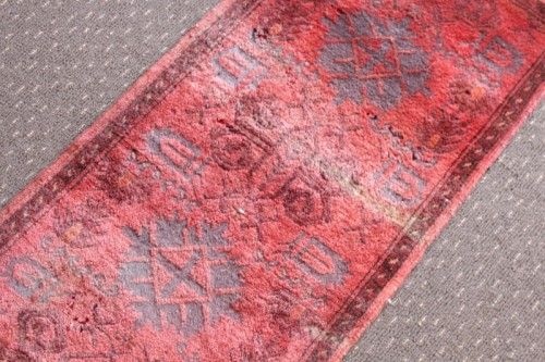 Rugs Amp Carpets A Stunning Vintage Traditional Burgundy