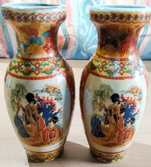 Oriental Porcelain Oriental Vases Was Listed For R4500 On 17 Mar