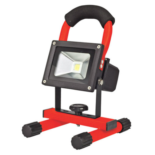 10 Watt Rechargeable Flood Light With Stand | bidorbuy co za