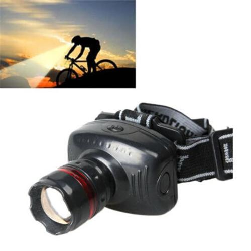 500LM 3W CREE LED Headlamp Flashlight ZOOMABLE Headlight Head Torch Lamp TN2F