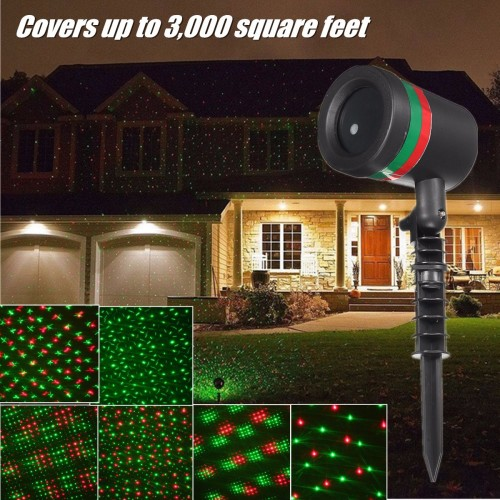 Solar Outdoor String Lights Costco: Brand New Star Light RED GREEN