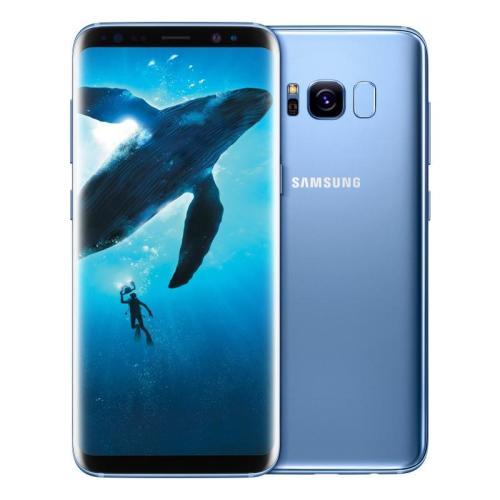 cell phones smartphones samsung galaxy s8 coral blue. Black Bedroom Furniture Sets. Home Design Ideas