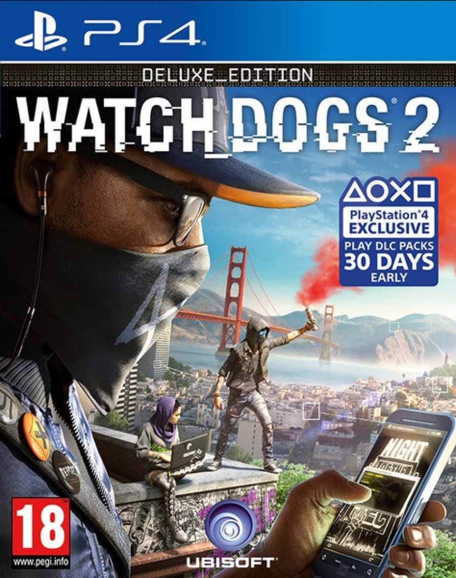 Games Ps4 Watch Dogs 2 Deluxe Edition As New Bid To Win For Injustice