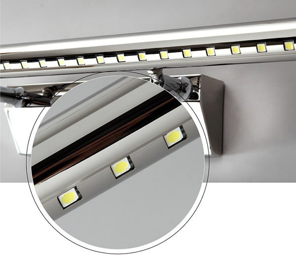 Led Light Fittings Durban: 10x 40cm Stainless Steel 5W LED Wall