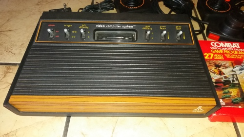 Consoles atari console with all cables x2 games in original boxes was listed for r1 on - Original atari game console ...