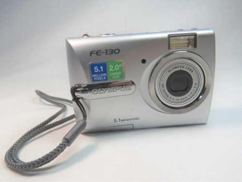 Olympus FE - 130 digital 5.1 MP camera - Not tested