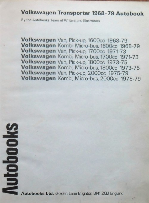 Cars - VW TRANSPORTER ¿ Owners Workshop Manual 1968-1979 by