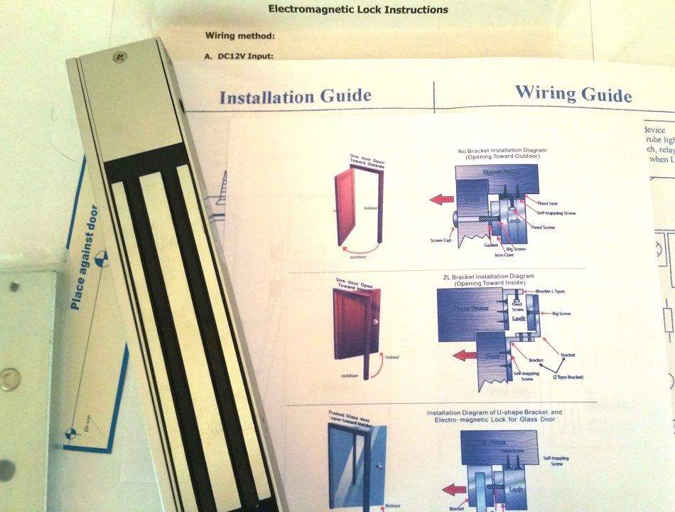 Electromagnetic Lock Wiring Diagram - Lir Wiring 101 on