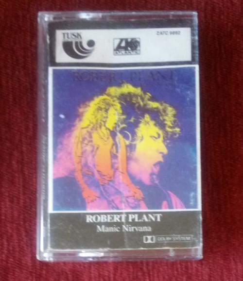 Classic Rock Robert Plant Manic Nirvana 1990 Cassette