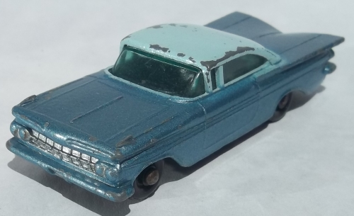 игрушка matchbox chevrolet impala 1959