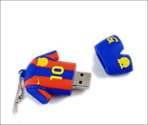 67c67c143 Messi Shirt Soccer Football Real Madrid 16GB USB Flash Drive Memory Stick