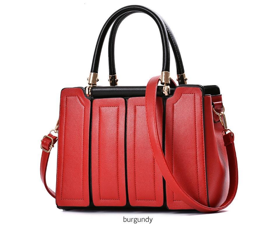 Handbags Womens Zipper Pink Handbag Office Shoulder