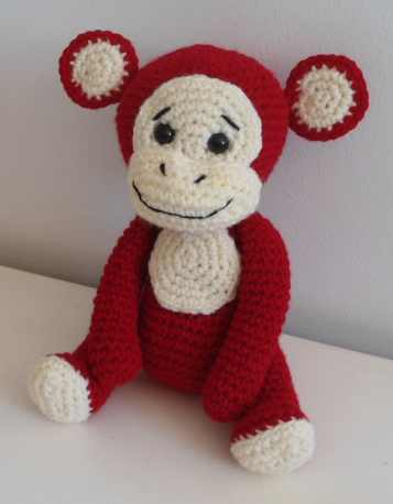 Naughty monkey amigurumi pattern - Amigurumi Today | 458x357