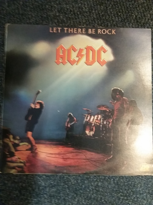 Metal Ac Dc Let There Be Rock Uk Press Vg Ac Dc Vinyl