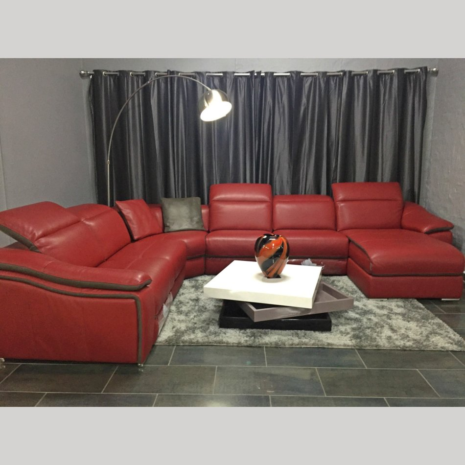 Couches Chairs Madrid Leather Corner Reclining Sofa For Sale  ~ Leggett And Platt Leather Recliner Sofa