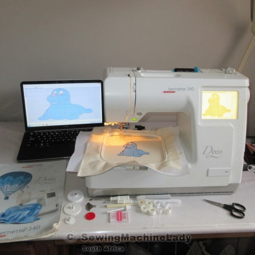 Embroidery machines bernina deco machine