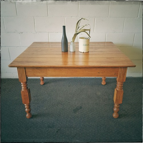 A Lovely Solid Oak Center Coffee Table With