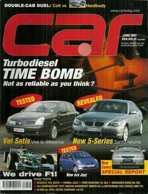 Car Magazine - June 2003