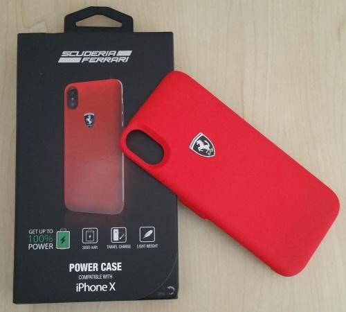 low priced c4177 620c1 Scuderia Ferrari Power Case Compatible With IPHONE X - Color Red - Original  Ferrari Product