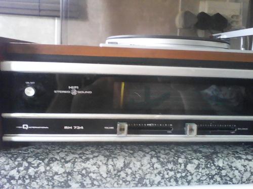 Turntables - Large Vintage Philips HiFi Stereo Sound Turntable