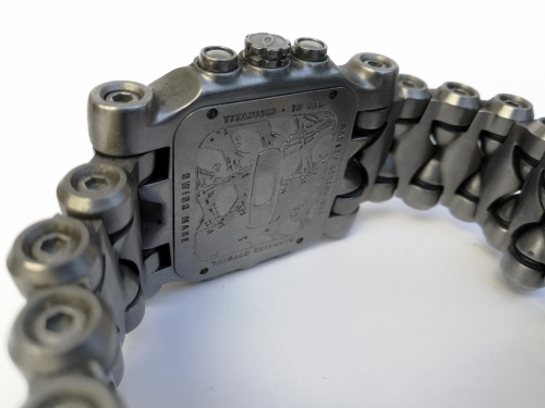 bb5e2df7669 Men s Oakley Minute Machine 10-194 Titanium Chronograph Swiss Made Watch