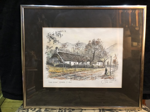 Other Original South African Art - JOHN HALL ~ SIGNED IN 1977 IN ...
