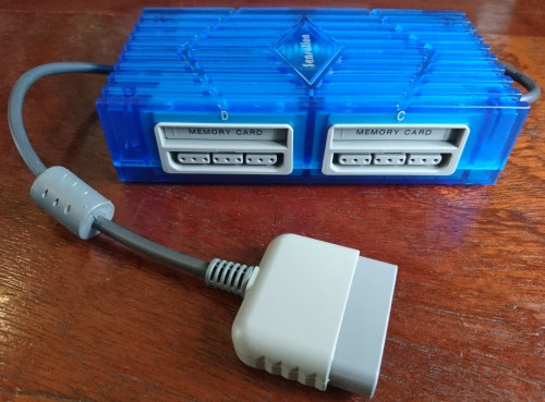 Adapters & Cables - Sensation PS1 Multitap Adapter (Blue