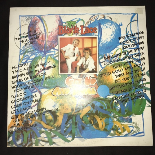 Black Lace - Get Up And Dance 2 (LP) Vinyl Record