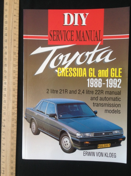repair manual toyota cressida 22r