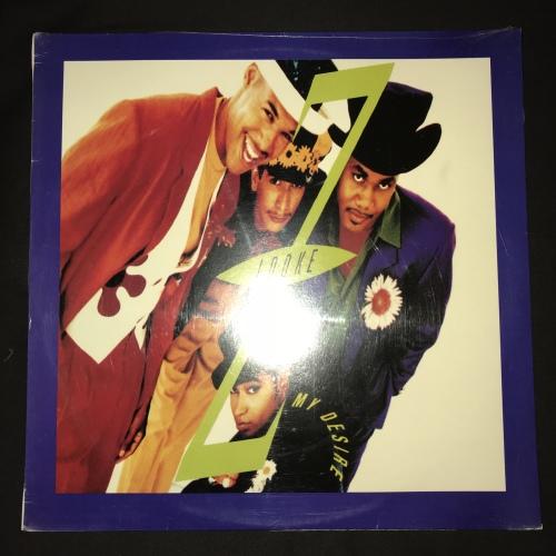 Hip Hop Amp Rap Z Looke My Desire Lp Vinyl Record 2nd