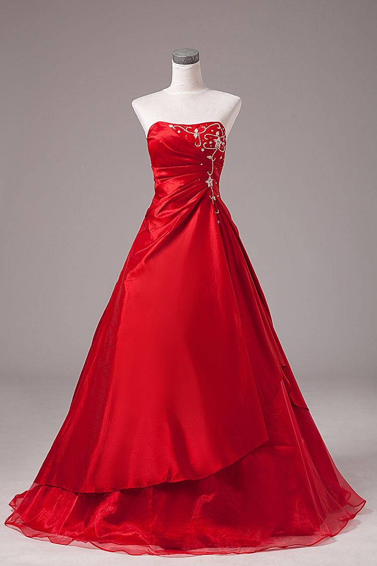 Formal Dresses - BALL GOWN/BALL GOWNS/RED BALL GOWN/DANCE BALL GOWN ...