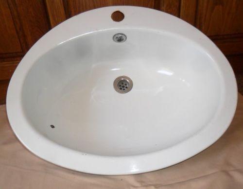 Enamelware Vintage Enamel Wash Basin Sink Hand Basin