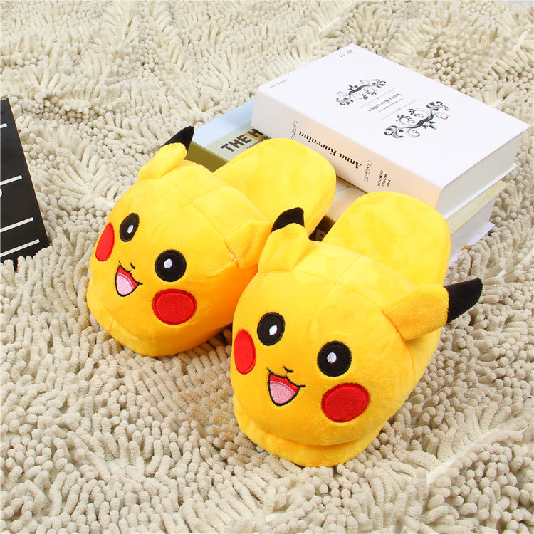 dd614293a2b9 Slippers - Pokemon Go Slippers - Pikachu Slippers Size US 5 was ...