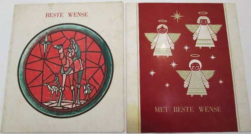 Other antiques collectables 2x vintage 45 rpm playable afrikaans 2x vintage 45 rpm playable afrikaans christmas greeting cards m4hsunfo