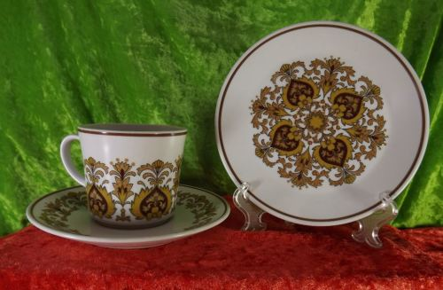 Oriental porcelain noritake japan porcelain crockery progression vintage noritake progression trios fandeluxe Image collections