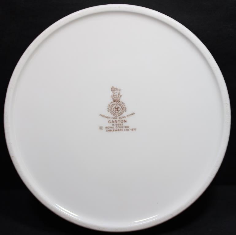English Porcelain Royal Doulton Canape Serving Dish