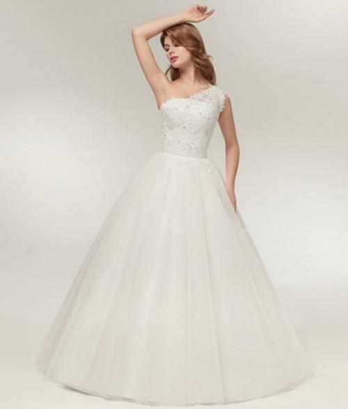 346160373268f *WILD ROSE* *WHITE* or *OFF WHITE* Lace Detail Wedding Dress - Set Sizes /  Custom - FREE SHIPPING!