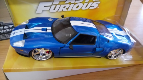 Ford Gt Fast And Furious Jada