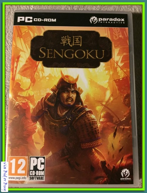 PC - CD ROM SENGOKU (BOOKLET AND SERIAL NUMBER INCL)